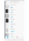 AJAX SpaceControl vezeték nélküli távirányító, 4 funkció gombbal. LED visszajelzés. Fehér szín.
