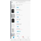 AJAX Keypad vezeték nélküli érintésvezérelt billentyűzet, LED visszajelzés. Fehér szín.