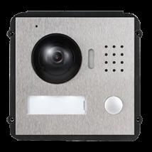 Fém moduláris kültéri videós főegység, HD kamerával