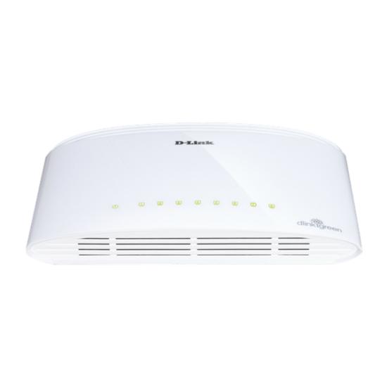 D-Link Gigabit Desktop Switch - DGS-1008D (10/100/1000 Mbps, 8 port)