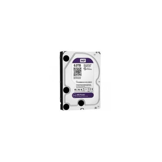 "Western Digital WD60PURX  6TB 3,5"" Desktop 5400rpm, 64 MB puffer, SATA3 - Purple"