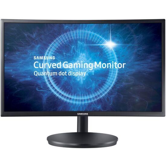 "Samsung 27""(16:9) C27FG70FQU LED VA Quantum Dot Ívelt monitor (1920x1080 FullHD, 350cd/m2, 1ms, 2HDMI, 144Hz, Pivot)"