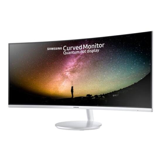 "Samsung 34""(21:9) C34F791WQU LED VA Quantum Dot Ívelt monitor (3440x1440, 300cd/m2, 4ms, 2HDMI, 100Hz) B2C"