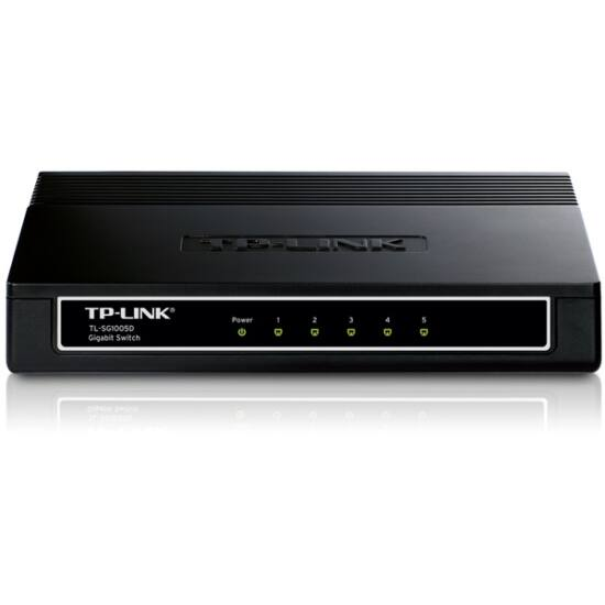 TP-Link TL-SG1005D Switch (10/100/1000Mbps, 5 port)
