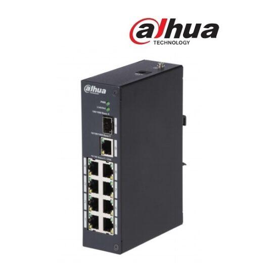 Dahua PFS3110-8P-96 Poe switch, 8x 10/100 PoE (96W) + 1x gigabit + 1 SFP uplink, 53VDC
