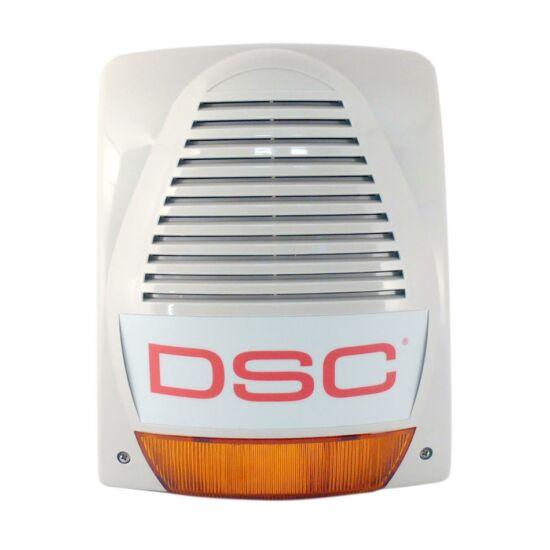 Akkumulátoros kültéri hang és fényjelző