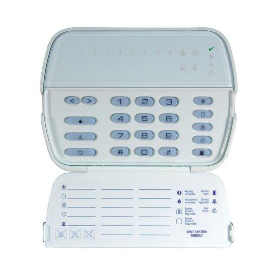 DSC 5508, 8 zónás LED kezelő, beépített 433 MHz-es vevő