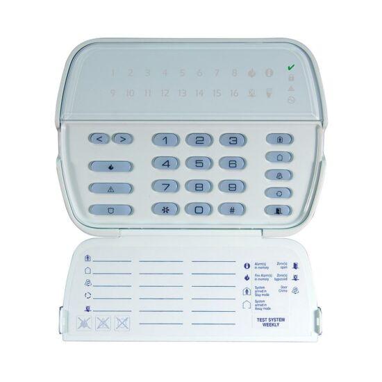 DSC 5516, 16 zónás LED kezelő, beépített 433 MHz-es vevő