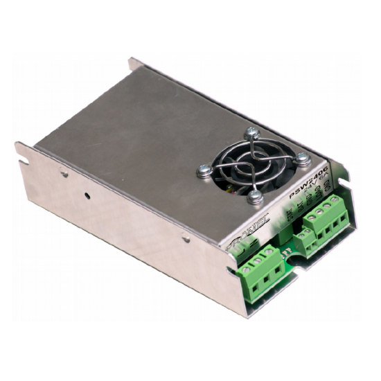 Promel PSW2406 Tápegység és akkumulátor töltő 27.6V/6A