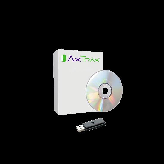 AxTrax NG sw licensz EuroVideo DVR-ek beillesztéséhez, korlátlan kameraszám, 12 DVR