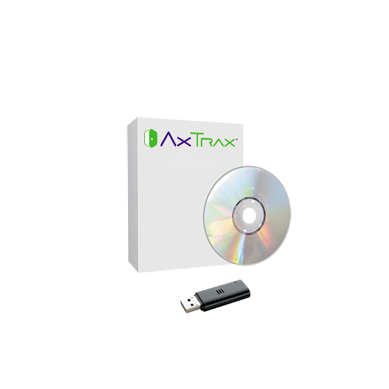 Rendszám felismerő licensz az AxTrax NG szoftverher, 2 db rendszám felismerő kamerához
