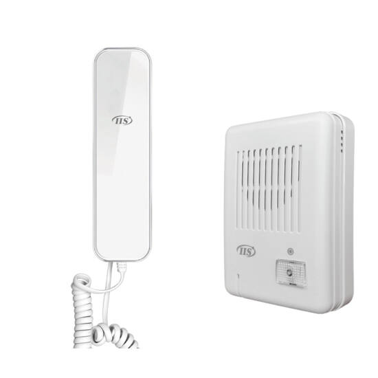 IIS 2 vez. audio kaputelefon szett,Fehér beltéri egységgel