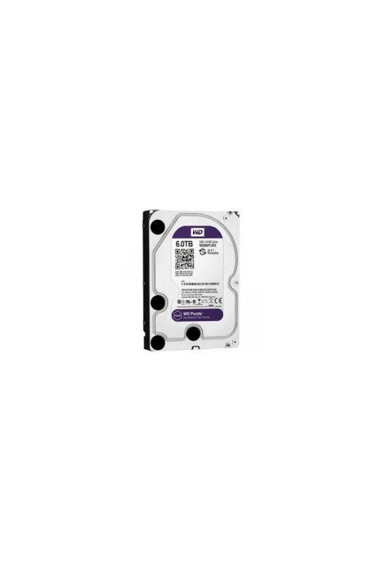 """Western Digital WD60PURX  6TB 3,5"""" Desktop 5400rpm, 64 MB puffer, SATA3 - Purple"""
