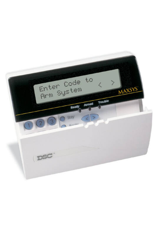 DSC 4501 LCD kezelő, PC4020/4010 központokhoz