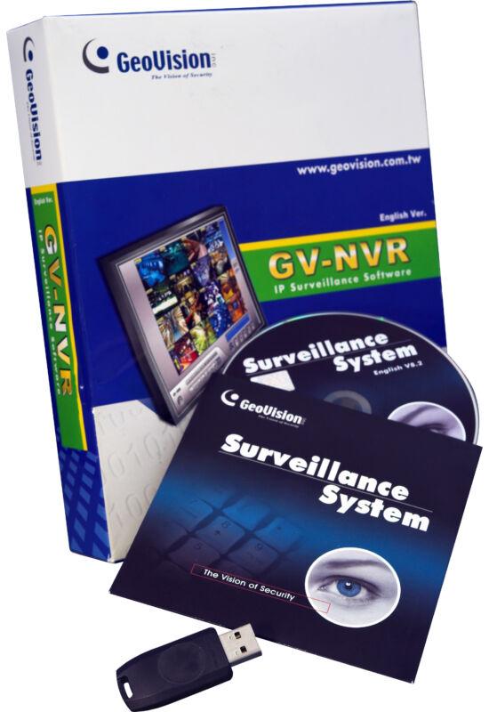 GEOVISION mejelenítő és rögzítő szoftver IP kamerák számára max 1 kamerára
