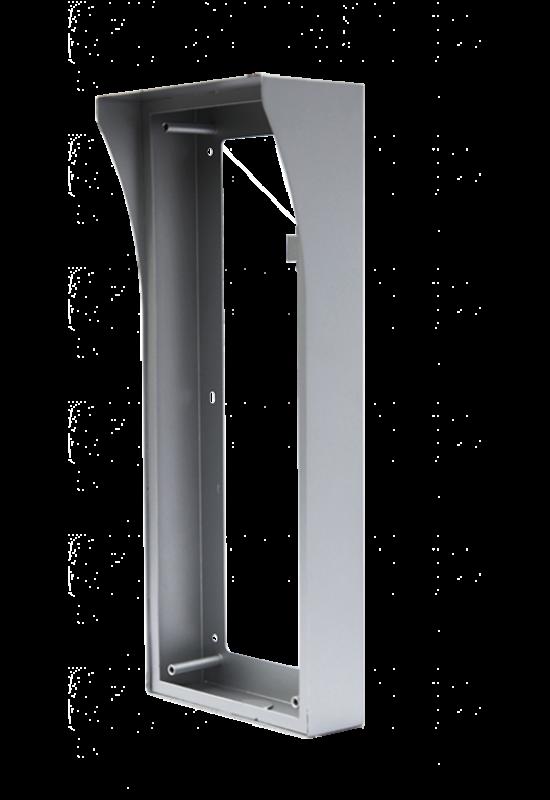 Esővédővel ellátott kiemelő keret, 3 modulos kiszerelés