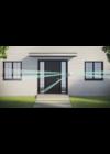 AJAX DualCurtain Outdoor - Kültéri kétirányú függönyinfra