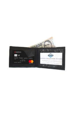 RF árnyékolt pénztárca - PayPass bankkártyákhoz