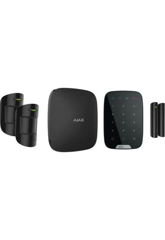 AJAX Szett Keypad BL - 1db AJAX HUB, 2db MotionProtect, 1db DoorProtect, 1db Keypad