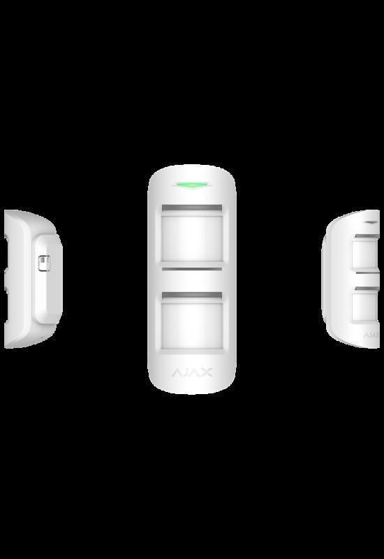 AJAX MotionProtect Outdoor WH - Kültéri Dual PIR mozgásérzékelő