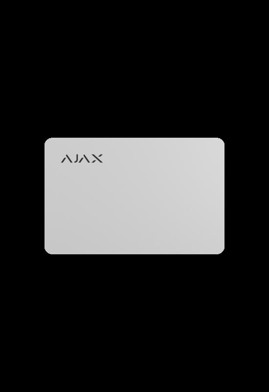 AJAX Pass - Érintés nélküli kártya a kezelőhöz (10 db/csom)