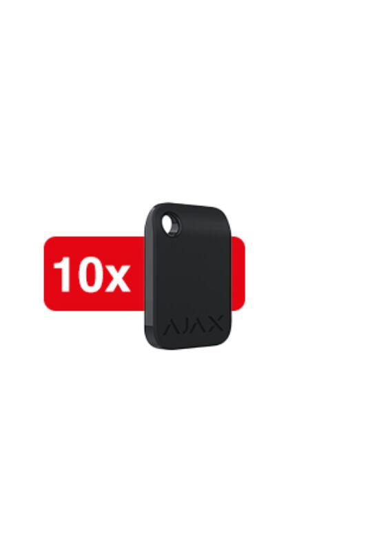 AJAX Tag 10 BL - Titkosított érintés nélküli kulcstartó, kezelőhöz (10db/csom)