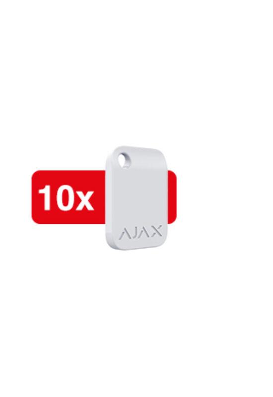 AJAX Tag 10 - Titkosított érintés nélküli kulcstartó, kezelőhöz (10db/csom)