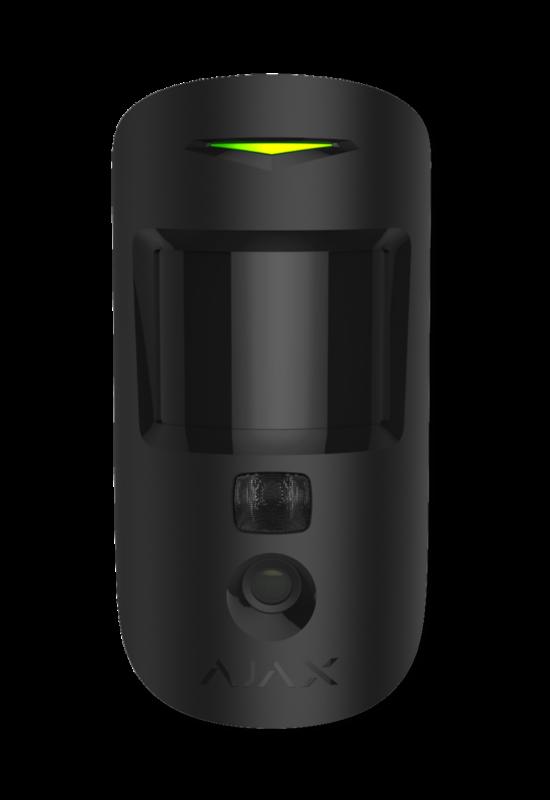 AJAX MotionCam BL - Mozgásérzékelő, beépített kamerával