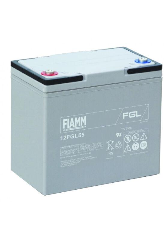 12FGL55 Fiamm 12V 55Ah akkumulátor