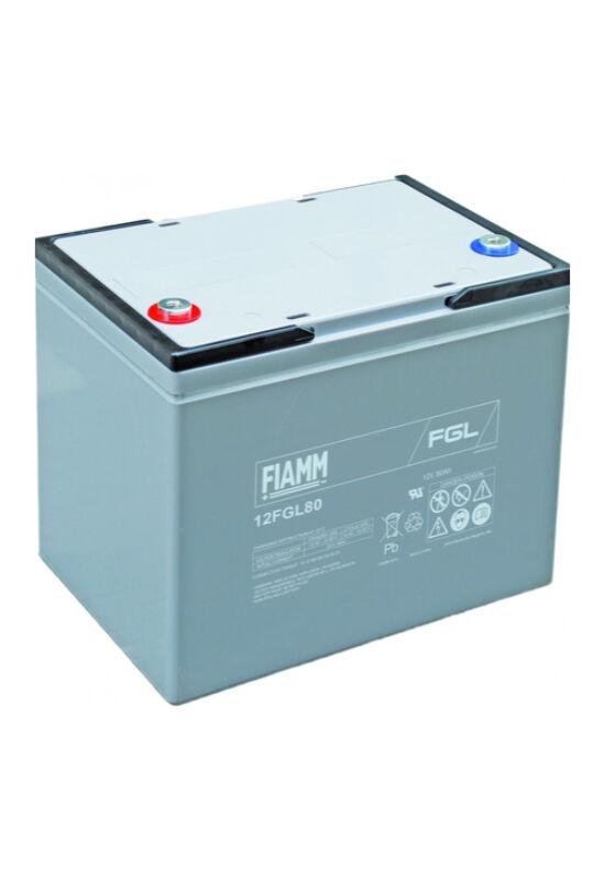 12FGL80 Fiamm 12V 80Ah akkumulátor