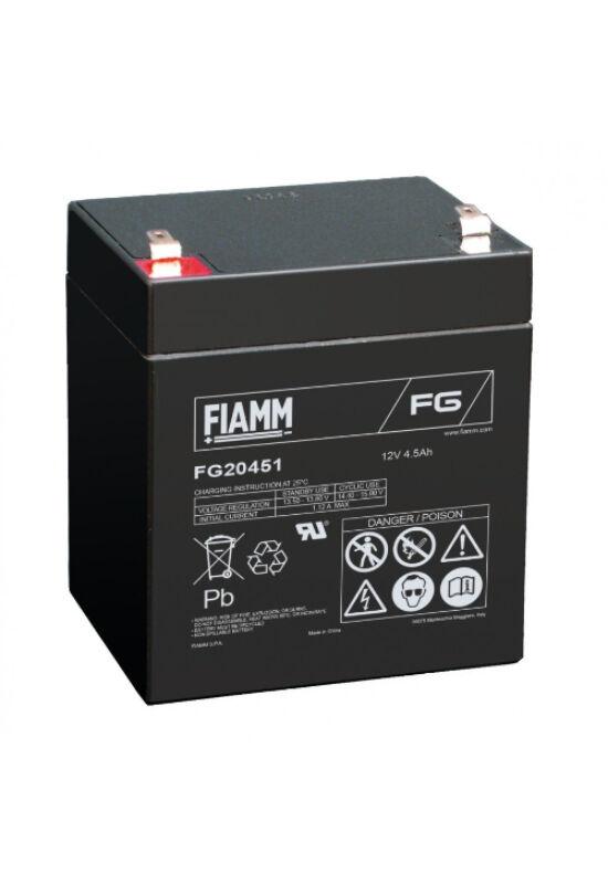 FG20451 Fiamm 12V 4,5Ah akkumulátor