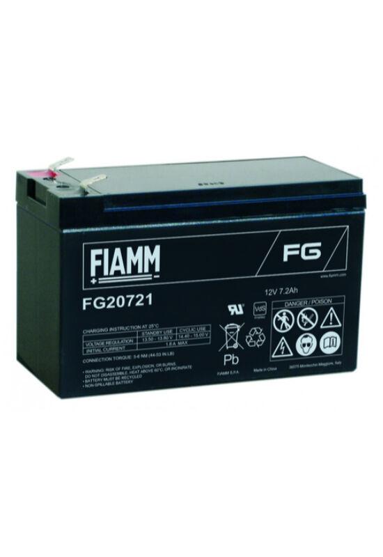 FG20721 Fiamm 12V 7,2Ah akkumulátor