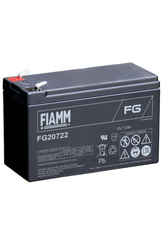 FG20722 Fiamm 12V 7,2Ah akkumulátor