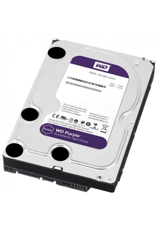 """Western Digital WD30PURX  3TB 3,5"""" Desktop 5400rpm, 64 MB puffer, SATA3 - Purple"""
