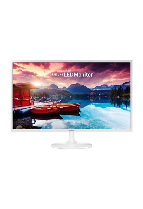 "Samsung 31,5""(16:9) S32F351FUULED VA monitor (1920x1080 FullHD, 200cd/m2, 5ms, MEGA DCR, 2xHDMI, fehér) B2C"