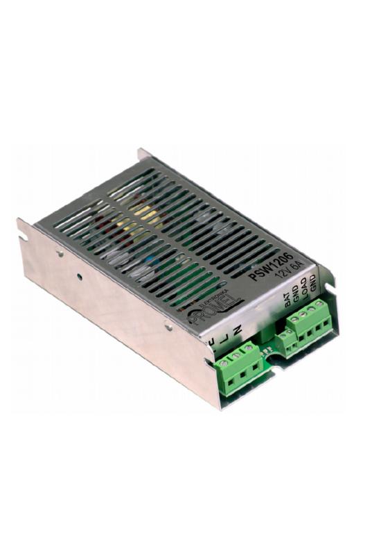Promel PSW1206 Tápegység és akkumulátor töltő 13.8V/6A