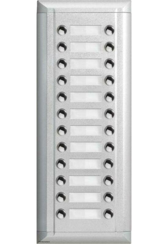 V-TEK Bővítőpanel - többlakásos rendszerekhez, 24 gombos