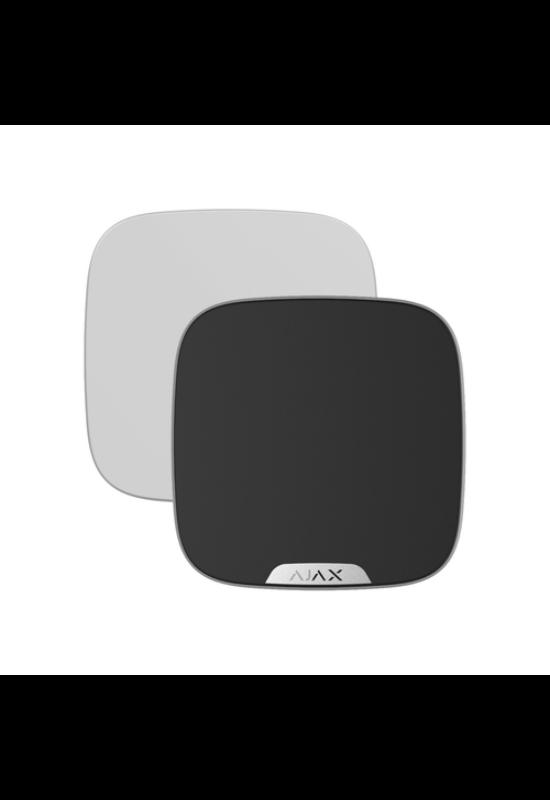 AJAX Brandplate - Kültéri hangjelző előlapja, egyedi logózással