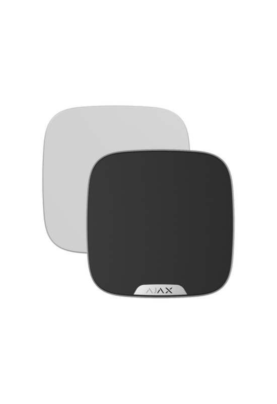 AJAX Brandplate BL - Kültéri hangjelző előlapja, egyedi logózással