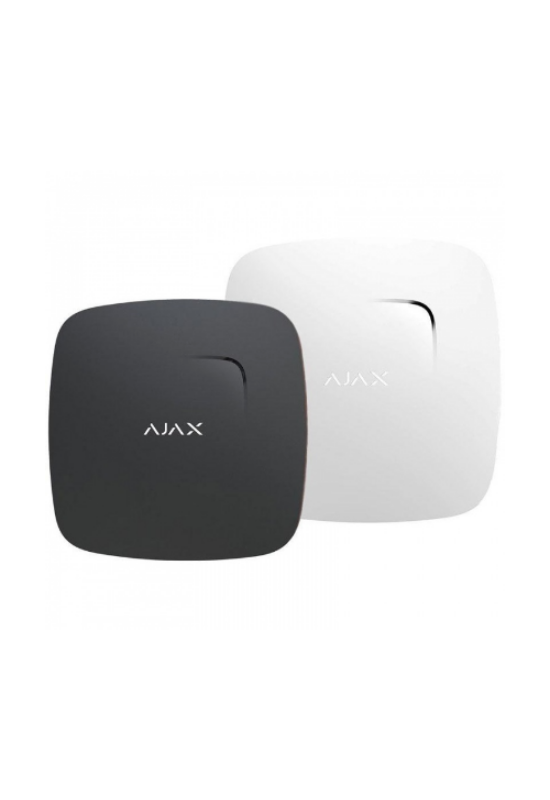 AJAX FireProtect Plus BL - Füst/CO érzékelő, hőmérséklet szenzorral, beépített szirénával